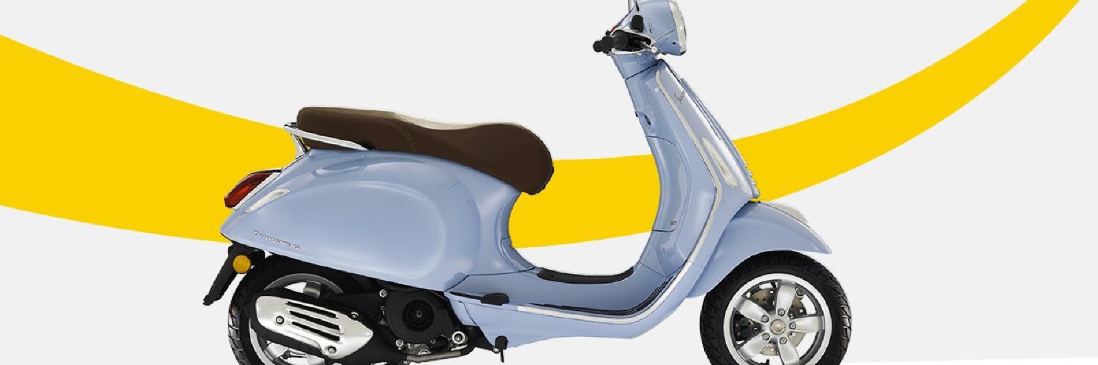 Neue Vespa Primavera 125 Ccm