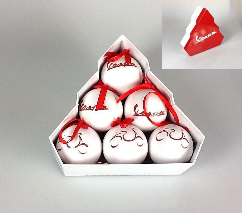 Vespa Weihnachtsbaumschmuck Merchandising Geschenk